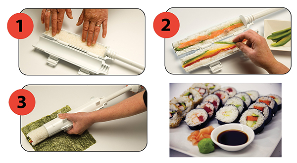 Sushezi sushi maker