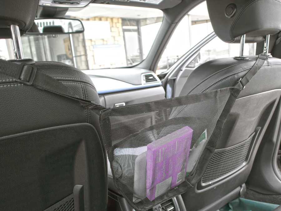 2 Car Purse Organizer Caddy Holder Pouch Organizer Mesh Bag Sling For Your Car