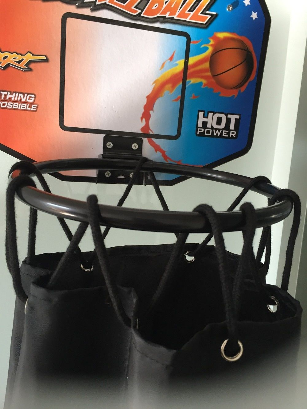 Basketball Clothes Laundry Hamper Hoop Shoot The Over