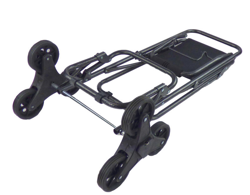 Dolly Climbing Stair Trolley Cart W Seat Foldable